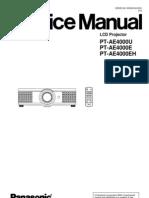 PT-AE4000_ServiceManual