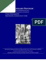 Yale Ivy Scholars 2012 Prospectus+Forms 16 Feb 2012 1