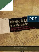 ldireito à_memoria_e à verdade  - Comissão de presos e desaparecidos na ditadura militar