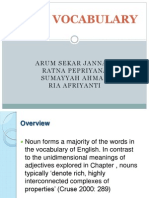 Noun Vocabulary
