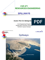 CVE471 Lecture Notes 4 - Spillways