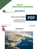 CVE471 Lecture Notes 4 - Spillways