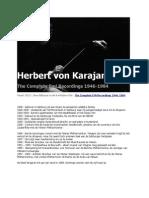 Herbert von Karajan - The Complete EMI Recordings 1964-1984