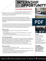 The Relief Bus Internship Opportunity