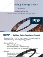 EESI Briefing Energy Codes Guttman 032012