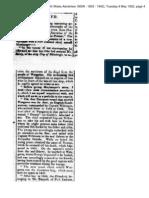 The Boyd Massacre Period Newspaper