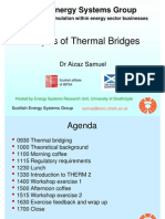 Analysis of Thermal Bridges