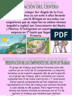 Presentación CEIP Sor Ángela de la Cruz