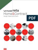 Catálogo Ondarreta Home Contract 2011