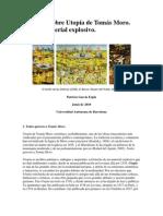 Diez tesis sobre la Utopia de Tomás Moro