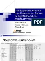 Clasificacion de Alimentos Para Mascotas-Mauricio Rocha