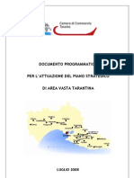 Documento Programmatico Per Area Vasta