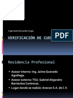 Dispositivo Verificador de Cuerdas