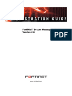 FortiMail Administration Guide 06 28000 0154 20060927