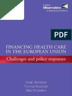 financiación salud ue