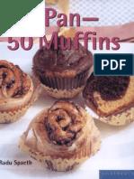 1 Pan - 50 Muffins