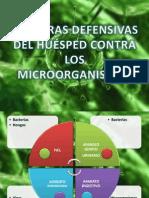 Barreras defensivas del huésped contra los microorganismos