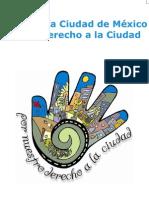 Carta de la Ciudad de Mexico 2010