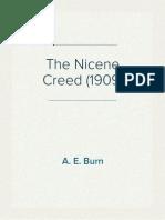 The Nicene Creed (1909) by A. E. Burn
