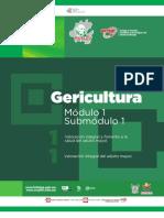 Guía Formativa, GERICULTURA 11. CECyTEH, Gobierno Hidalgo. 2012