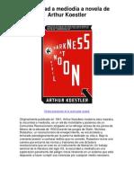 Oscuridad a mediodía a novela de Arthur Koestler - 5 estrellas reseña del libro