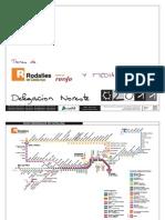 Horarios y diagrama de trenes MD Renfe Verano 2011