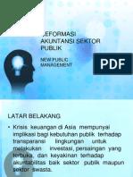 Reformasi ASP New Public Management
