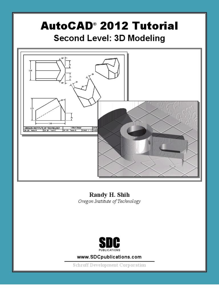 Autocad tutorials level 2 3 d computer graphics 3 d modeling baditri Images
