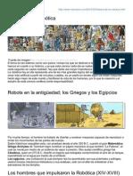 Robodosis.com-Historia de La Robtica