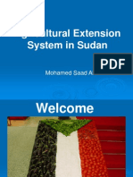 Agricultural Extension System in Sudan Final