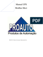 Manual UPS Modbus