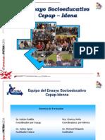 Presentacion Ensayo Socioeducativo Idenna 2012