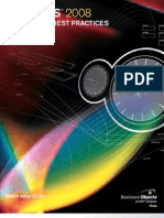 Xcelsius® 2008 Dashboard Best Practices