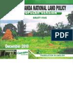 The Uganda National Land Policy English Version