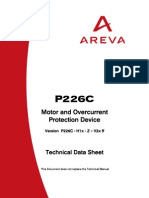 Motor and Over Current Protection Device 226