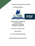 Documento Para Titularse en El IMCED