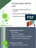 Strategic Analysis & Choice Topic 5