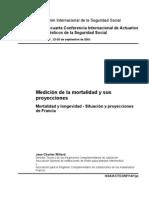 Medición de la mortalidad y sus proyecciones