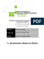 Apostila Introducao a Banco de Dados