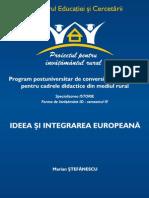 Stefanescu-Ideea europeana