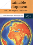 Sustainable Development the Challenge of Transition