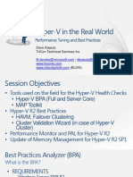 VIR340 - Hyper-V in the Real World – Performance Tuning and Best Practicesv2