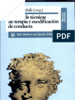 Manual de Tecnicas de Conductas y Modificacion de Conductas