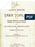 Rubin Patitia - Tara Topilor (1912)