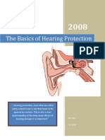 The Basics of Hearing Protection