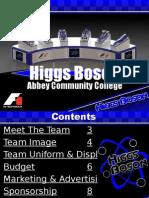 Higgs Boson Regional Portfolio