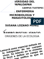Origenes de La Ecologia
