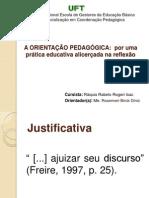 apresentação pós UFT