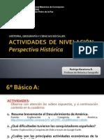 Actividades Perspectiva Histórica 6°