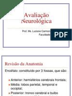 Avaliação Neurológica